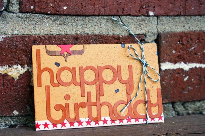 Happy Birthday Gift Card Envelope